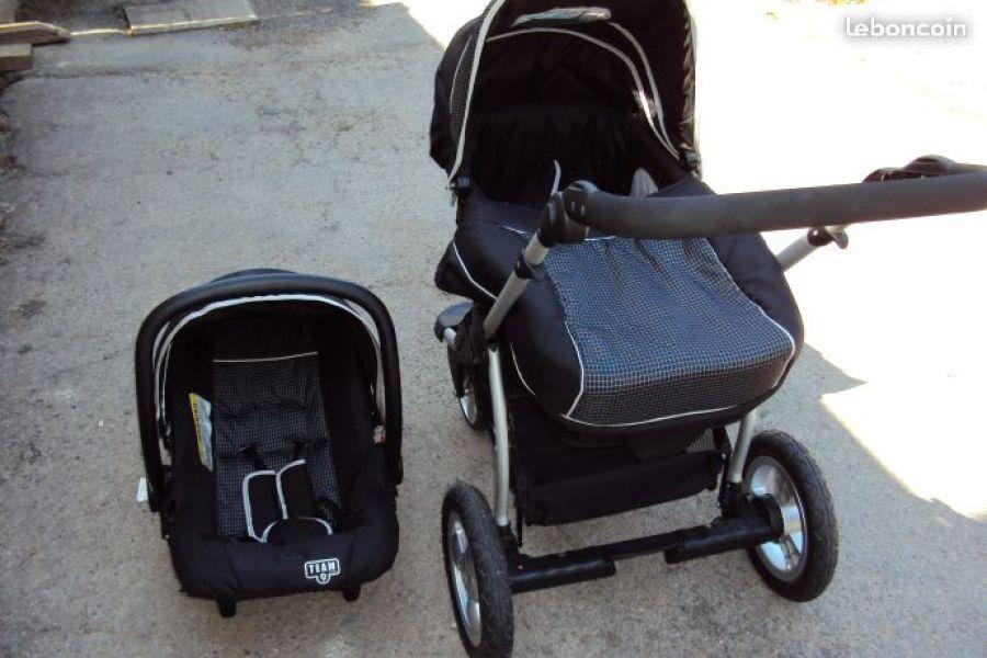 poussette team 9 baby
